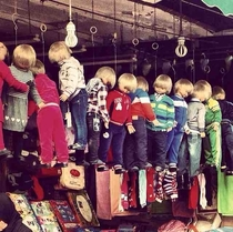 innovative childrens clothing display