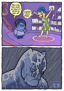 Inside Out Batmans version