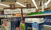 Interesting aisle placement