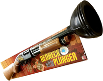 Introducing the redneck plunger Perfect for shits in the urinal At only  and it makes shotgun noises