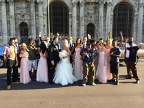 Inviting the Detroit neighbourhood to join your wedding photo Priceless