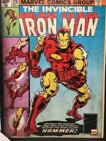 Iron Man used to put on his shoes before his pants