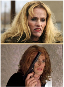 Is it just me or does Wendy from Breaking Bad look exactly like Willem Dafoe in drag