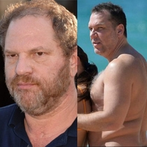 Is it me or does Dane Cook look like hes aging into Harvey Weinstein