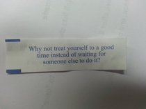 Is my fortune cookie telling me to masterbate