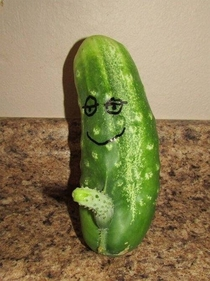 Is that a cucumber in your pocket or are you just happy to see me