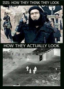 ISIS fighters expectation vs reality