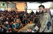 Islamic Front military chief Zahran Alloush uses Hello Kitty notebook