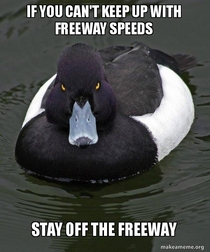 Its a safety hazard to everyone around you Ive seen way too many accidents caused by idiots who do not know how to drive