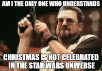 Its called Star Wars HOLIDAY Special for a reason