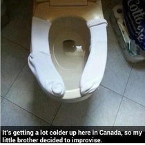 Its getting colder in Canada