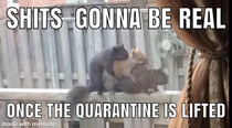 Its gonna get squirrelly