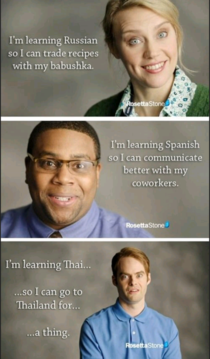 Its good to learn other languages