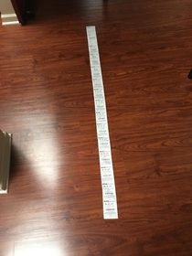 Its hard to appreciate the CVS receipt references on Reddit until you experience it first hand Total amount spent