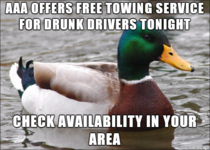 Its important that all options for avoiding drunk driving are known