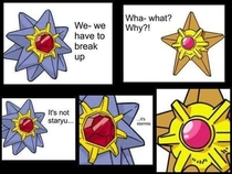 Its not Staryu