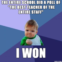 Its the small victories