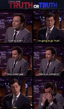 Its things like this that make me love Steven Colbert so much