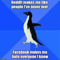 Its what I like to call the Social Media Paradox