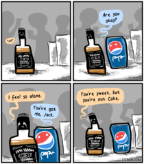 Ive been feeling a bit pepsi recently