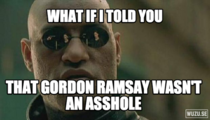 Ive been watching some old Gordon Ramsay episodes on Netflix and came to this realization