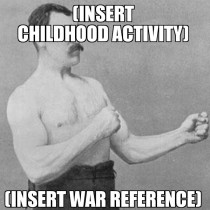 Ive gotten successful overly manly man memes down to a template