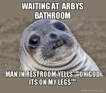 Ive had a traumatic day at Arbys