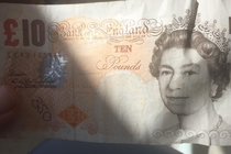 Ive just been given one of the new  notes Im loving the new design
