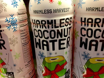 Ive never been suspicious of coconut water until now
