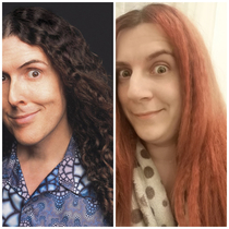 Ive recently been informed that I look like Weird Al Yankovic