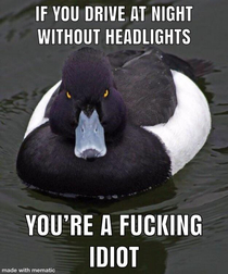 Ive seen  cars already without headlight just today