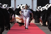 Jack Black and his Panda Army