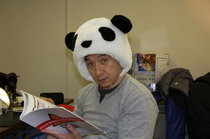 Jackie Chan - When I read I put on my thinking cap