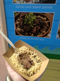 Jamaican-Braised Beef from Epcots current festival
