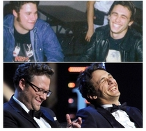 James Franco is still laughing at that joke Seth told him  years ago