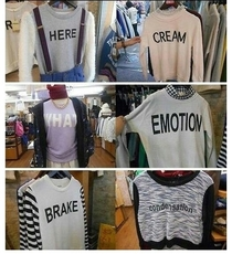 Japanese Shirts With English Words