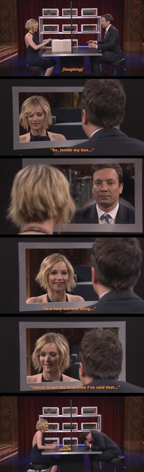 Jennifer Lawrence plays Box of Lies on The Tonight Show