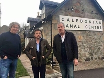 Jeremy Clarkson visits the Caledonian Canal Center