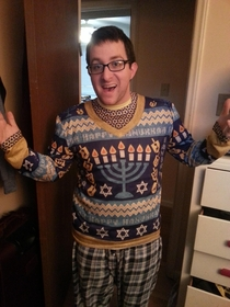 Jews can have ugly sweaters too