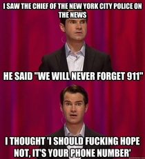 Jimmy Carr remembers