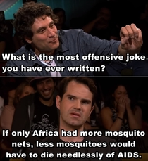 Jimmy Carrs most offensive joke
