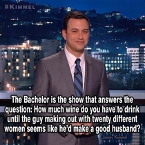 Jimmy Kimmel on The Bachelor