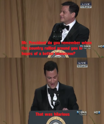 Jimmy Kimmel to Obama