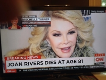 Joan Rivers Would Have Found This Hilarious