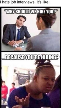Jobs interviews like