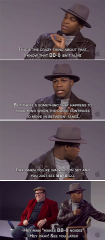 John Boyega on BB-