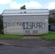 Join the IRA graffiti modified in Strabane Ireland X-post from rIreland