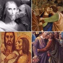 Judas greatest crime was not respecting personal space