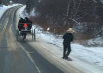 Just a little Amish Fun in Western NY
