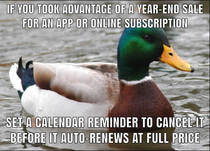 Just a reminder for those who did it last year and those who will do it this month